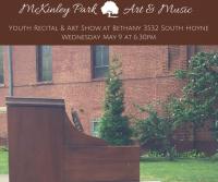 McKinley Park Youth Recital & Art Show