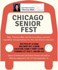 Chicago Senior Fest Bus