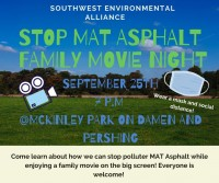 MAT Asphalt Protest Movie Night