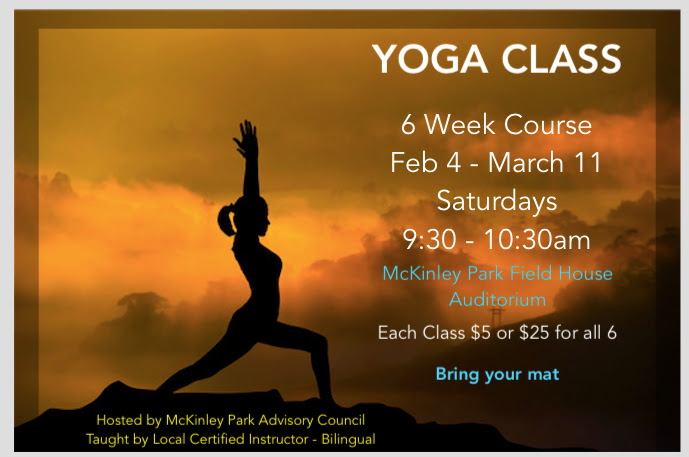 MPAC Yoga Classes Poster winter 2017