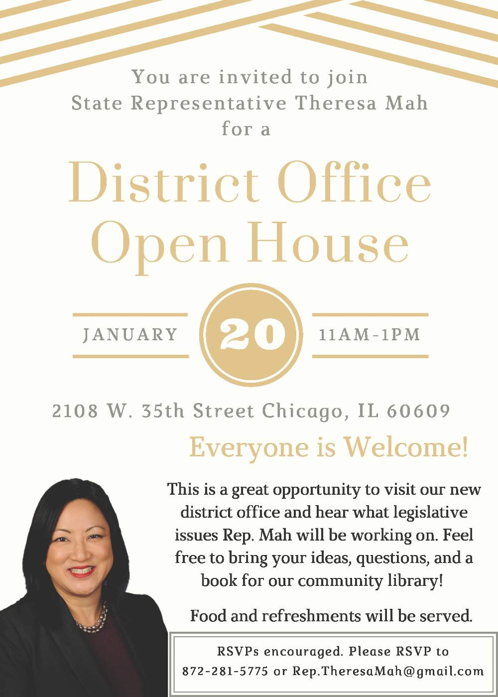 2nd District Open House poster