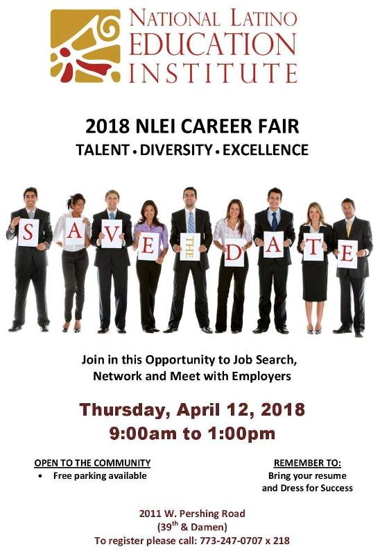 NLEI 2018 Career Fair poster 20180412 forweb