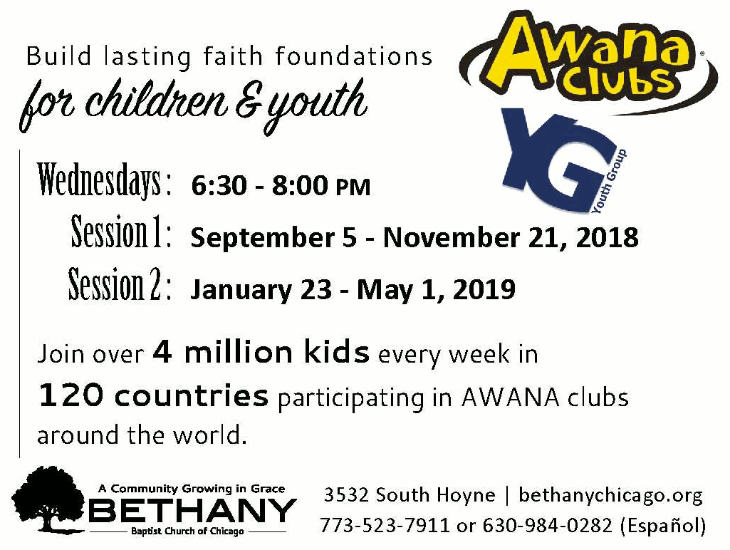 Awana Clubs Youth Group Poster forweb