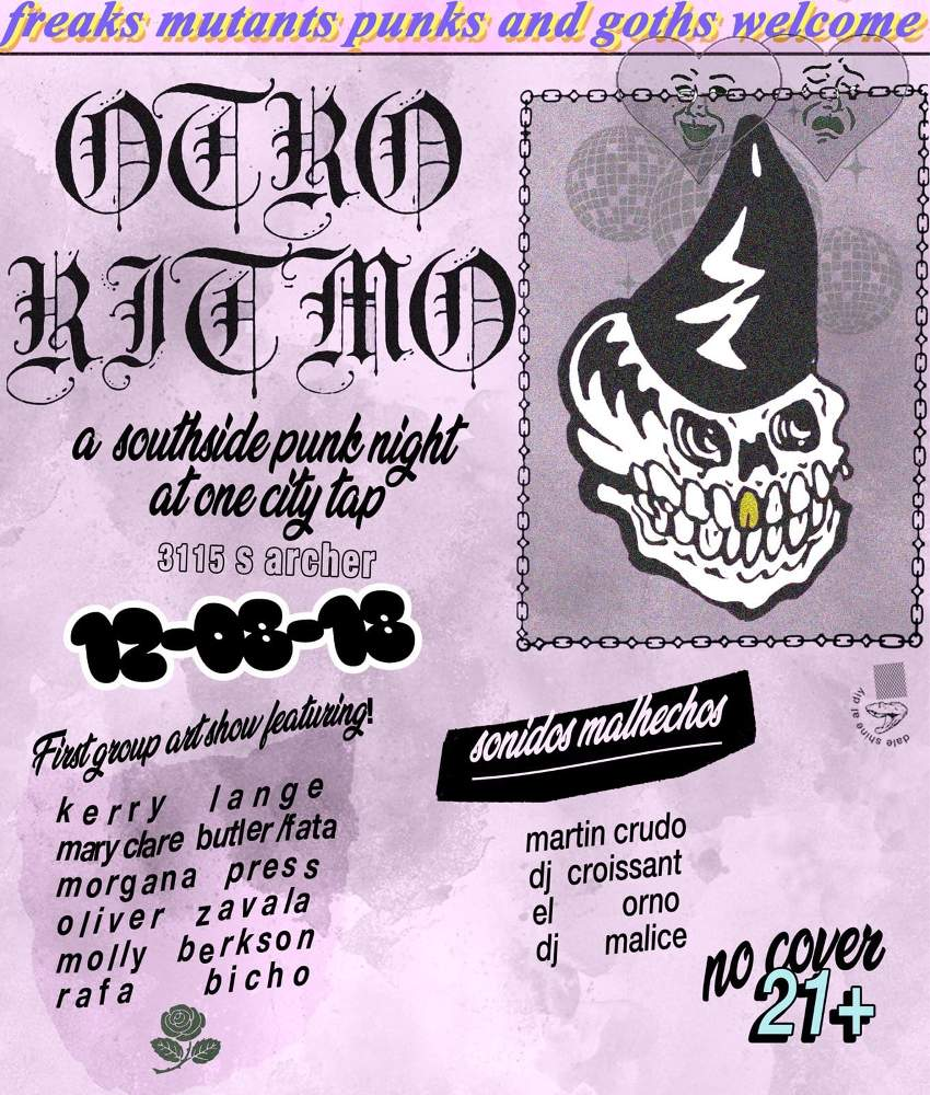 Otro Ritmo South Side Punk Night One City Tap 20181208 poster forweb