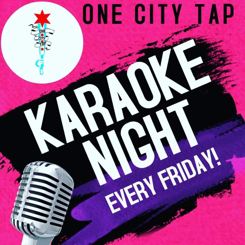 One City Tap Karaoke Night poster forweb