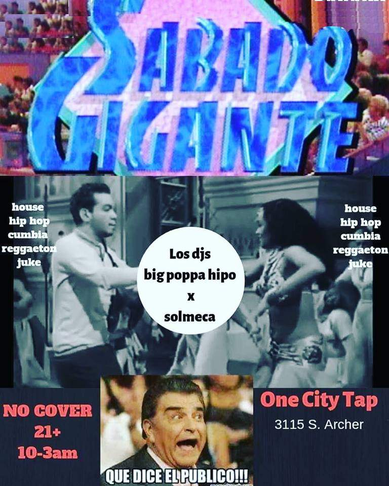 Sabado Gigante One City Tap poster forweb