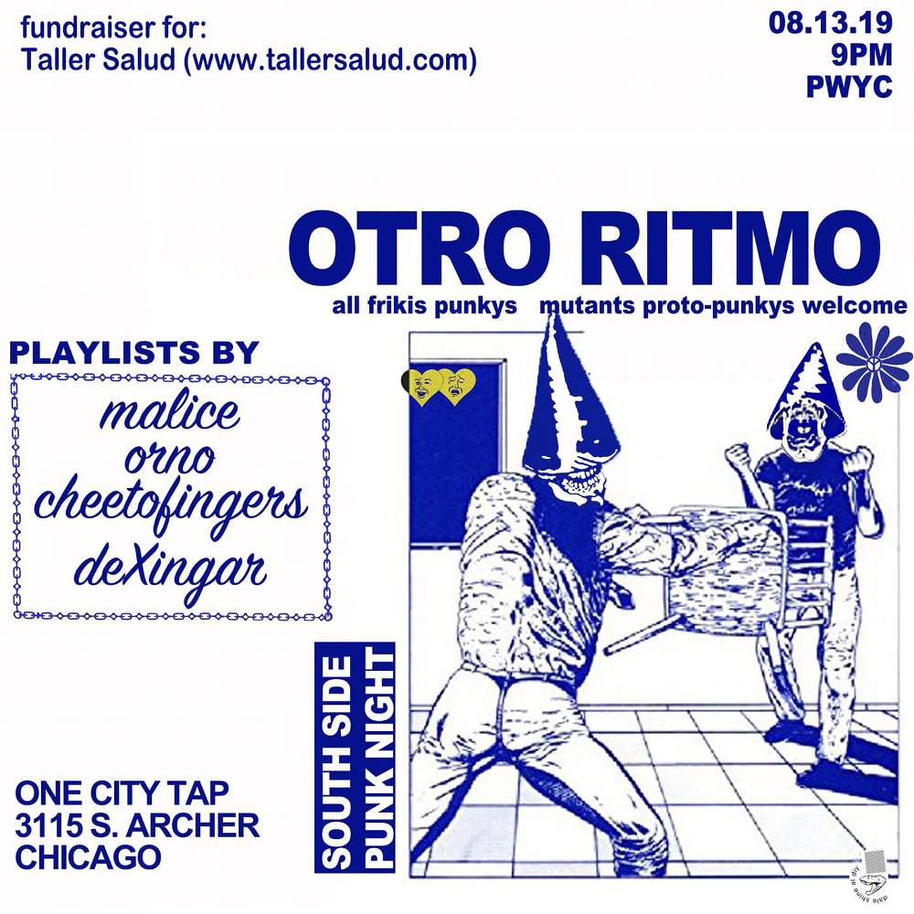 Otro Ritmo South Side Punk Night One City Tap 20190813 poster forweb