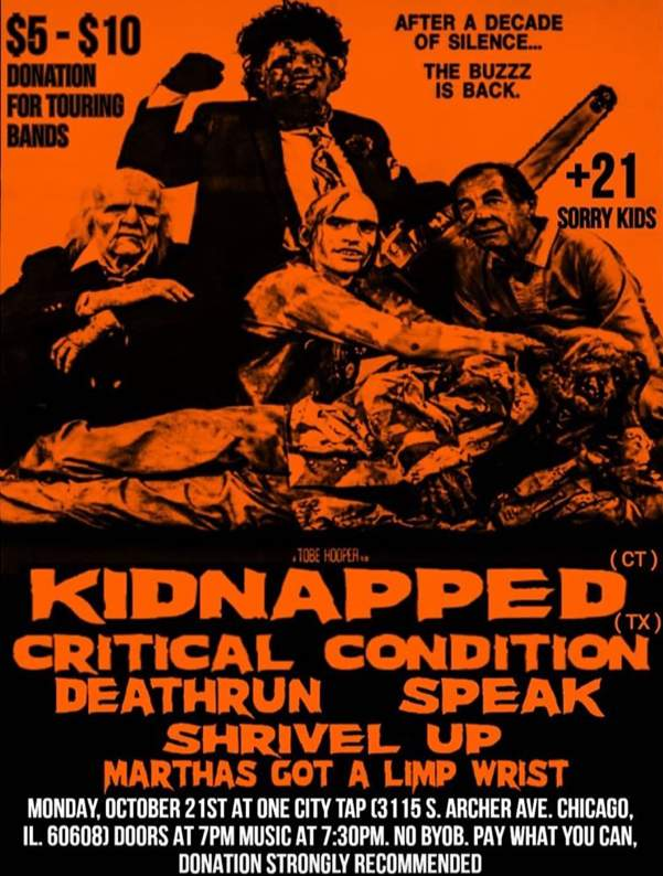 Kidnapped Critical Condition Deathrun More One City Tap 20191021 poster