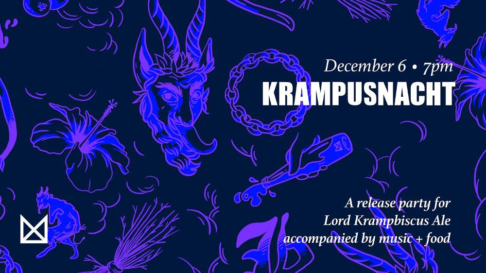 Marz Community Brewing Co Krampusnacht party 20191206 poster