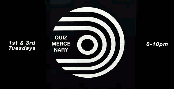 Quiz Mercenary Marz Community Brewing Co poster