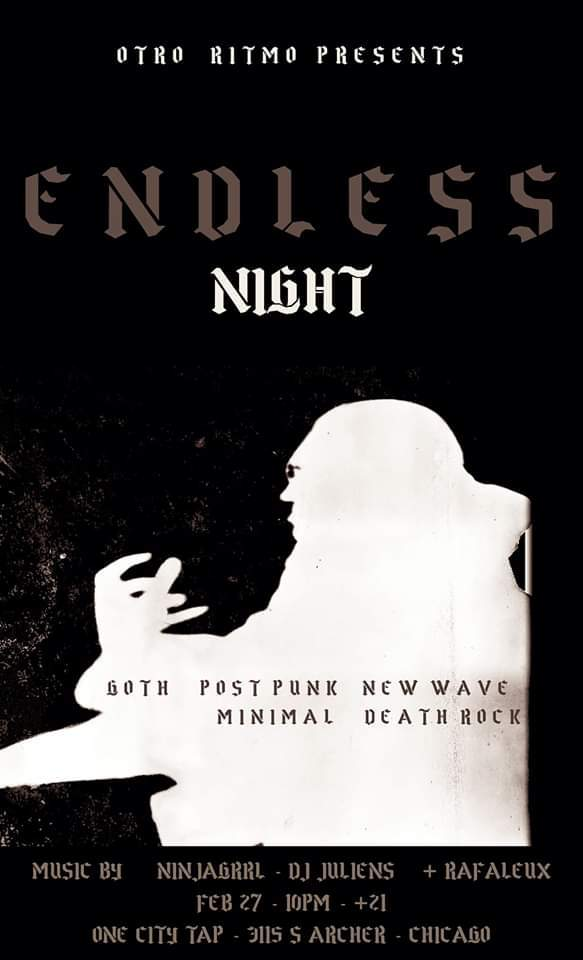 Otro Ritmo South Side Punk Night Endless Night 20200229 poster forweb