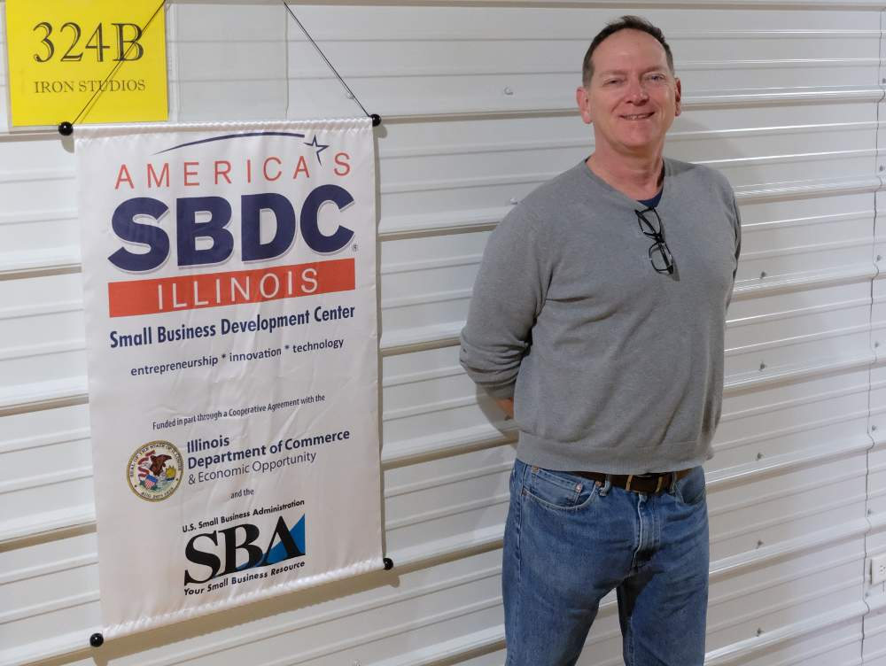 36 Squared Executive Director Andrew Fogaty stands ready to help local small businesses.