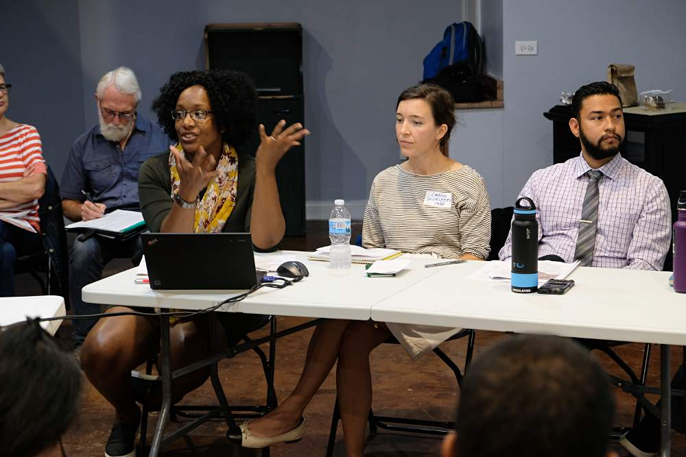 McKinley Park Development Council meeting 20190918 Kendra Freeman TOD panel
