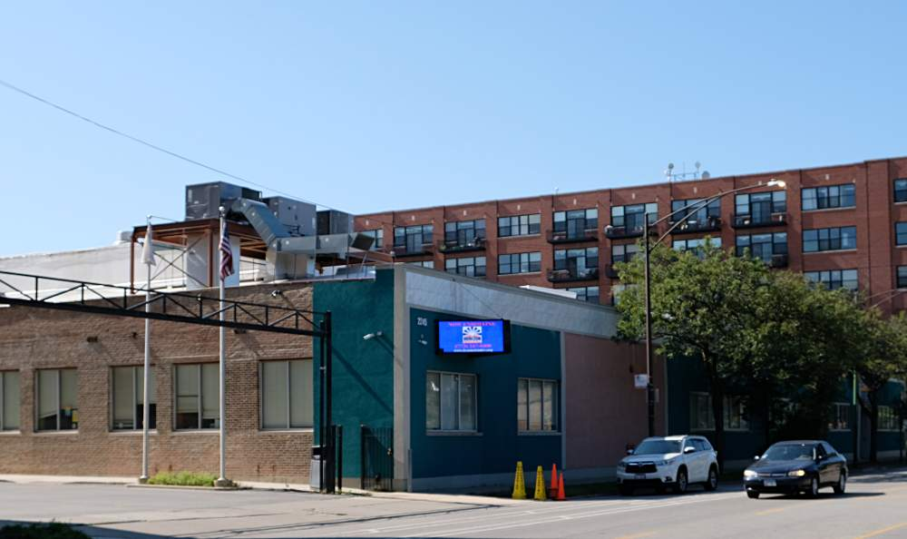 Horizon Science Academy sits across from McKinley Park at 2245 W. Pershing Road, Chicago.