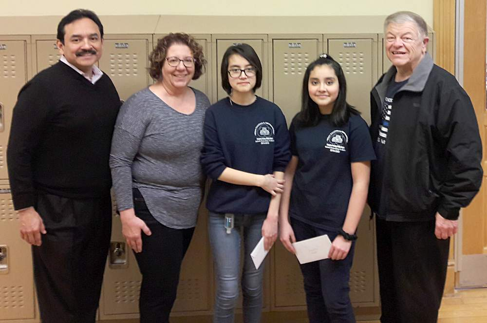 McKinley Park Civic Association Essay Contest winners Evergreen Academy Middle School