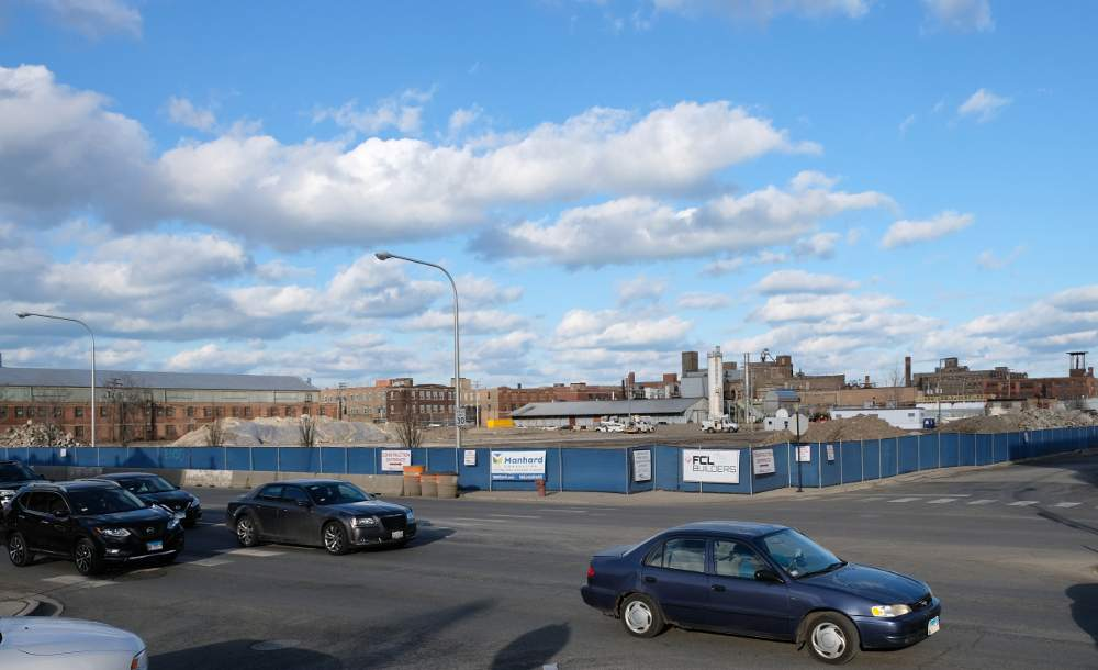 Site preparation is underway for construction of the last-mile shipping warehouse at South Ashland Avenue and West 37th Street.