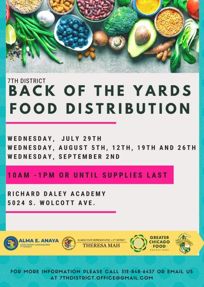 food distribution poster