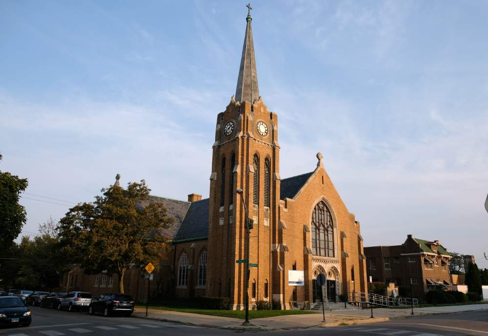 St. Maurice Church at 3615 S. Hoyne Ave., Chicago, including connected real estate and buildings, is slated for deconsecration by the Archdiocese of Chicago.