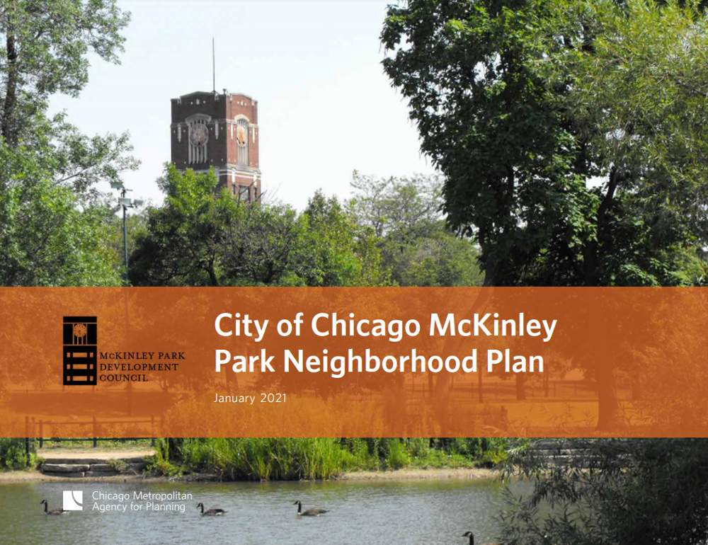 McKinley Park Neighborhood Plan Cover2