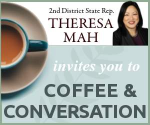 Enjoy Coffee and Conversation with State Rep. Theresa Mah
