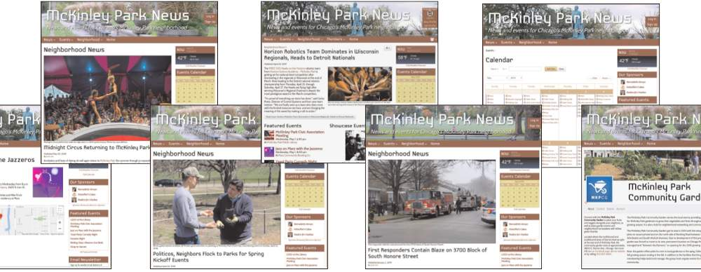 McKinley Park News page montage1