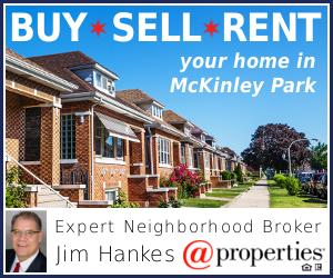Buy, sell, or rent  your McKinley Park home from Expert Realtor Jim Hankes.